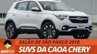 Novos SUVs da CAOA Chery no Brasil! Confira detalhes do Tiggo 5X e Tiggo 7