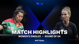Shao Jieni vs Vorobeva Olga | WTT Star Contender Doha 2021 | MS | R64