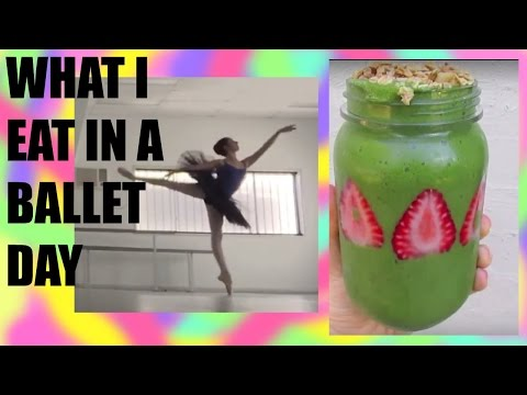WHAT I EAT IN A BALLET  DAY! #1