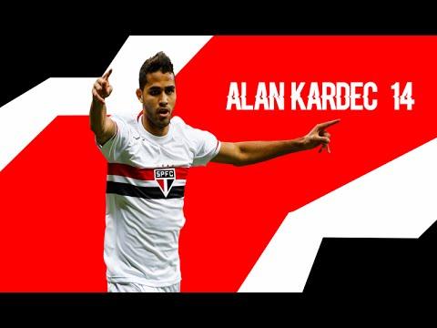 Goals & Skills ALan Kardec Sao Paulo FC