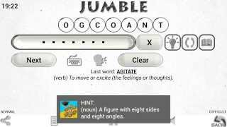 JUMBLE for Android by PANAGOLA