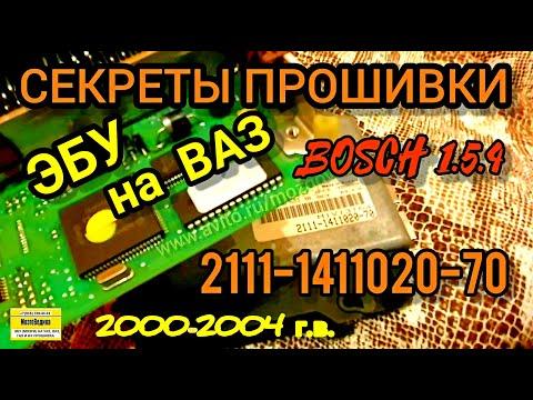 ЭБУ (Мозги) на ВАЗ 2111-1411020-70. Обзор и прошивка Bosch 1.5.4 1.5 8 кл. евро-0 от ВАЗ 2000-04 гв.