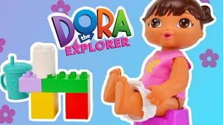 DORA GOES POTTY CARTOON - Dora Potty Training - Potty Like a Big Girl