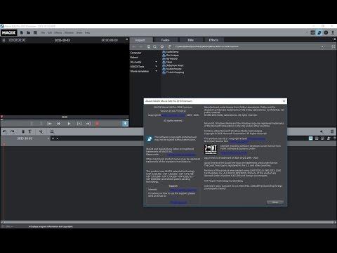 How to install MAGIX Movie Edit Pro 2016 Premium 64 bit + Crack FREE