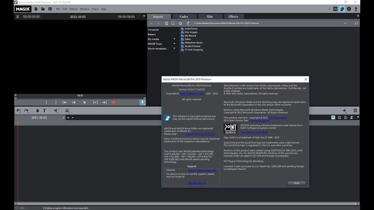 magix movie edit pro free download 32 bit