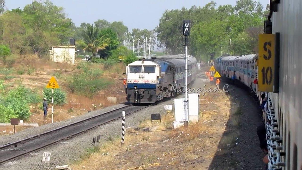 Scissors Crossing : Indian Railways.. - YouTube