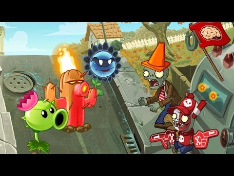 Plants vs. Zombies 2 ANIMATION New plants 2 (Cartoon) Nuevas plantas 2 Animado