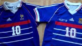 How to spot a fake football shirt (a good fake) France 1998 soccer jersey