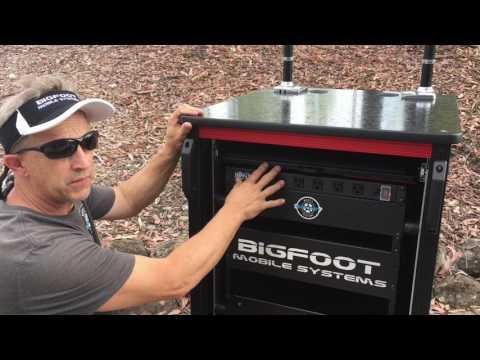 Bigfoot keyboard-mouse-laptop drawer lock operations 🤓