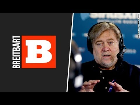 Steve Bannon stepping down from Breitbart
