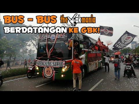 Full Aksi Bus Bus The Jak Mania Berdatangan Ke Sugbk!