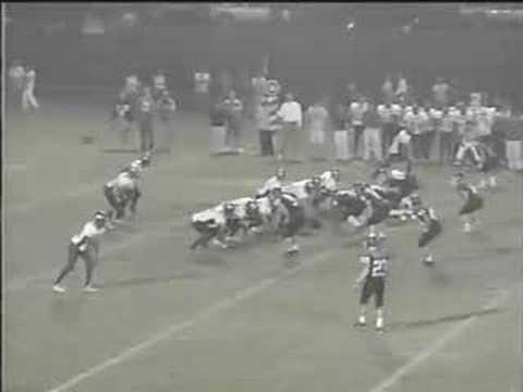 Schenectady High School RB #34 Marc Thompson