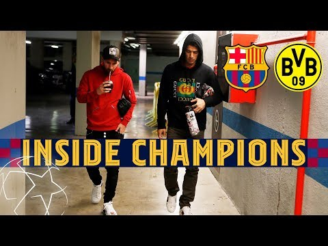 INSIDE CHAMPIONS | Barça 3-1 BVB, to the last 16!