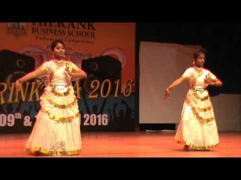 Saraswati Vandana Dance || Swetha Raj & Akhila Nair - HBS || Hierank Shrinkhla 2016