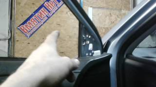 разборка обшивки передней двери на Toyota Corolla 2008г.