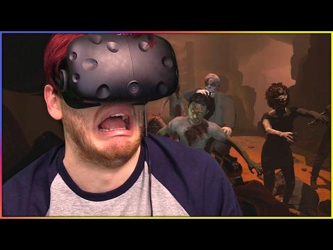 I'M NOT SCARED OF THE DARK! | Arizona Sunshine VR (HTC Vive Gameplay) |