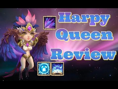 Castle Clash Harpy Queen Full Review! Thoughts!