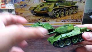 Огляд моделей т-34 і як 3