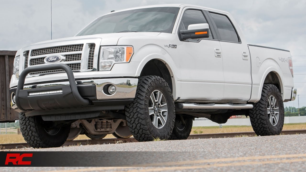 2009 2013 Ford F 150 3 Inch Bolt On Suspension Lift Kit By Rough Country