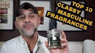 Top 10 Classy, Masculine Fragrances/Colognes For The Gentleman 👔👞🎩