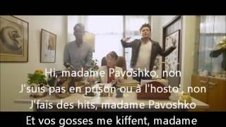 Repeat youtube video Black M - Mme Pavoshko [Paroles + Clip OFFICIEL]