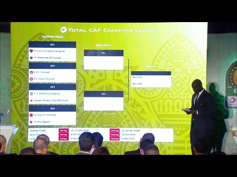 CAF Champions League  2018 DRAW