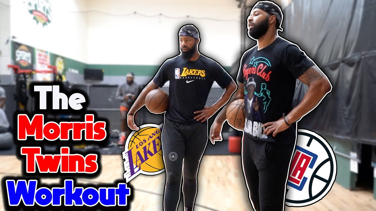 Download Lakers Marcus vs Clippers Markieff Morris 3 point *NBA Battle*