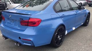 2018 F 80 m3 com package with black 20s