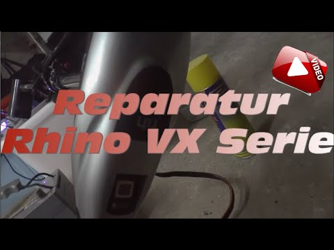 Fullrun Rhino VX Serie E Aussenborder / E Motor Reparaturanleitung ...
