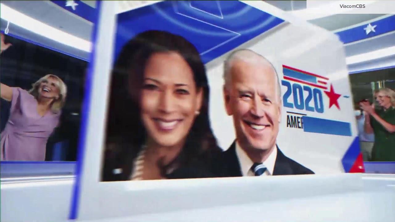 CBS News 'America Has Decided' open (Biden-Harris victory speech)