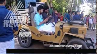 Audi  TT accident at Kollam college ; No proper action taken by Police