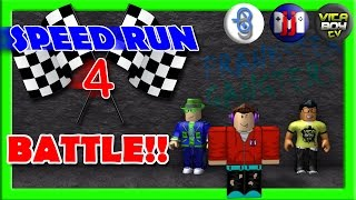 ROBLOX SPEED RUN 4 BATTAGLIA! W / Burlington del giocatore e VitaBoyTV:: GamerBoyJJM