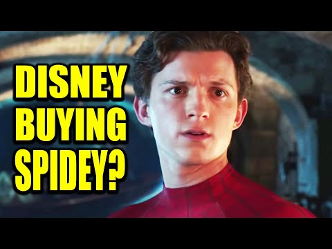 DISNEY TO BUY SPIDER-MAN RIGHTS FROM SONY OUTRIGHT FOR HOW MUCH???