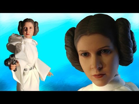 Hot Toys Princess Leia Action Figure Review