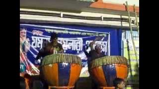 Dhak er baddi, Madol er taal, Dhamsa r sobdo-bromho er apurbo mixing
