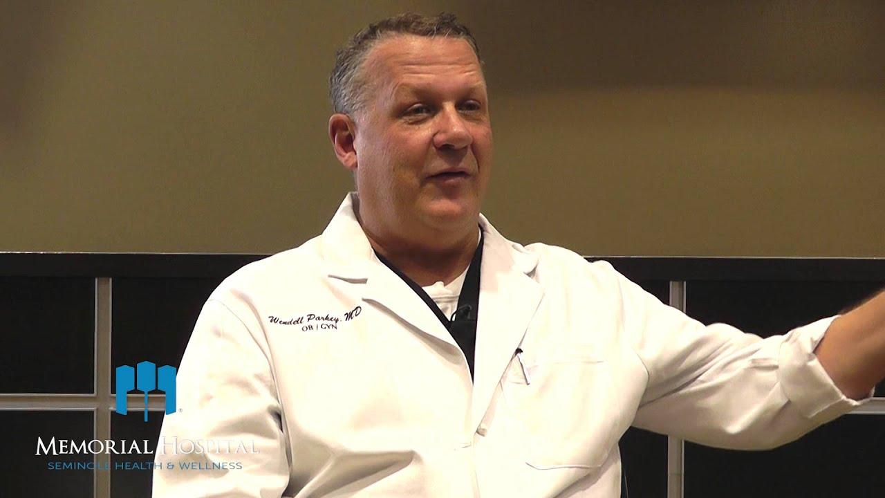 Dr. Wendell Parkey - OB/GYN Seminole Women\'s Health - YouTube