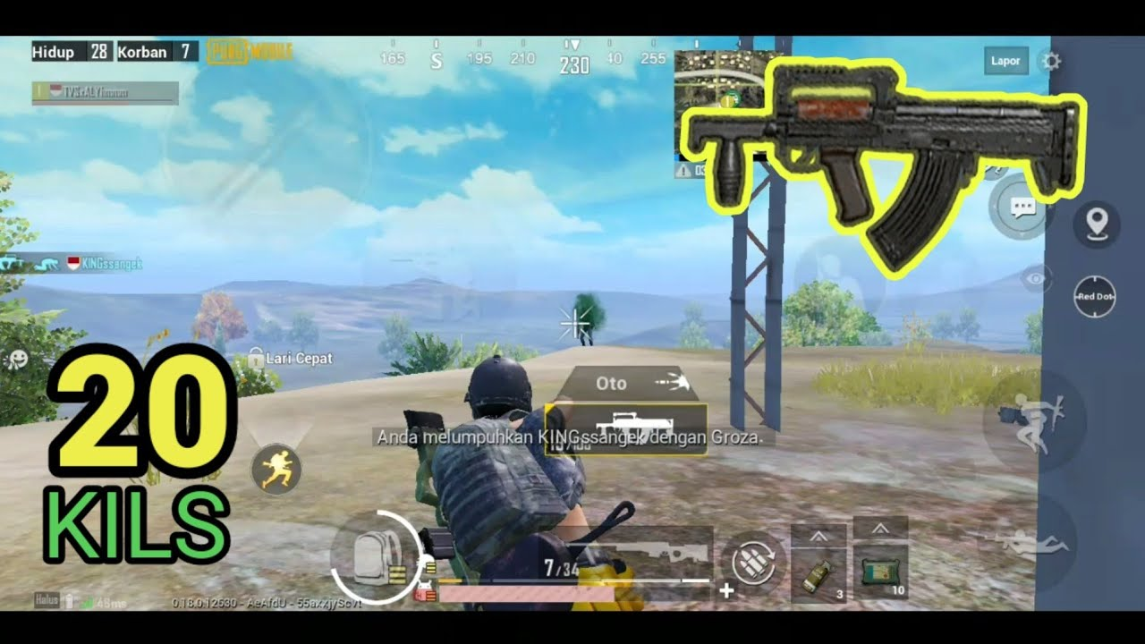 5 FINGERS GAME PLAY - PUBG MOBILE INDONESIA - YouTube