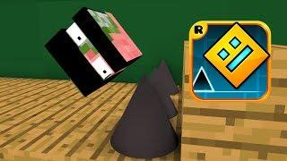 Monster School : GEOMETRY DASH CHALLENGE - Minecraft Animations