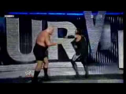 Survivor Series 2008 Undertaker vs Big Show Casket Match part 3/3