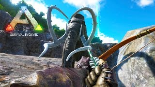 ARK: Survival Evolved - TAMING A MAMMOTH & ANKYLOSAURUS DINOSAURS! (ARK: Survival Evolved Gameplay)