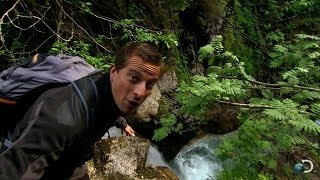 Climbing Down a Cliff | Bear Grylls: Escape from Hell