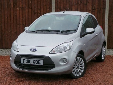 2010 10 Ford Ka 1 2 Zetec 3dr In Silver Youtube