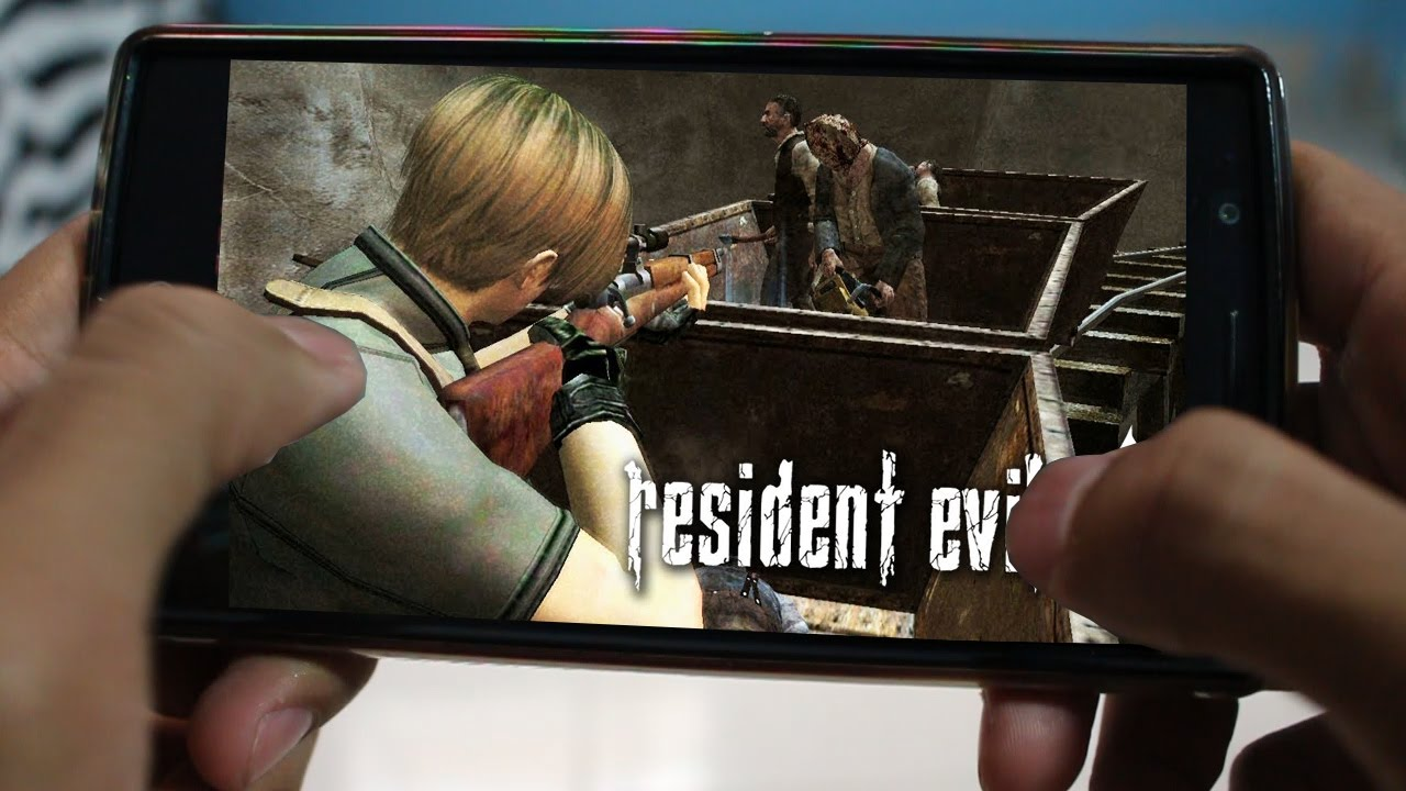 Resident Evil 4 Android 5.0