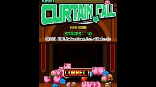 Kirby Mass Attack - Curtain Call TAS