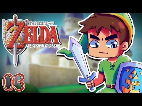 Zelda A Link to the Past #03 : PALAIS DE L'EST !