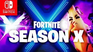 🔴 SEASON X BATTLE PASS, SKINS, MAP & mehr! Custom Games | Fortnite Switch Deutsch