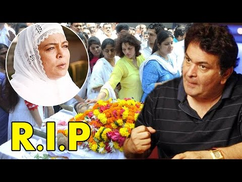 Rishi Kapoor Gets Emotional On Reema Lagoo's De@th