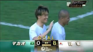 AFC U-23選手権予選(東京五輪一次予選)第1節 日本8-0マカオ