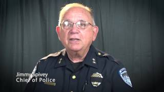 Richardson PD Thank You Message