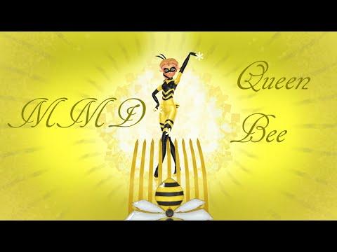 [MMD X MLB] Queen bee transformation (MOTION DL) - Creator-gemsonas